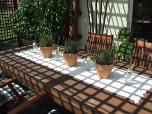 traumgarten - dekoration & schnickschnack f.tisch & garten, Garten Ideen
